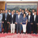 Visit of the Chinese People's Association for Friendship with Foreign Countries